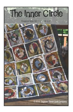 Inner Circle Quilt Pattern by Saginaw Street Quilts