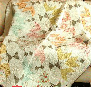 Dulcette Quilt Pattern in 4 Sizes by It's Sew Emma
