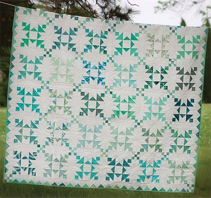 Island Chain Quilt Pattern by Eye Candy Quilts