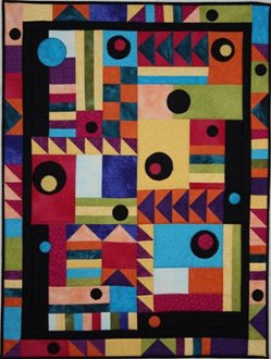 It's Easier Than It Looks Wallhanging Pattern by BJ Designs