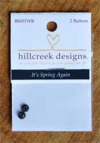 It's Spring Again Set of 2 Buttons by Hillcreek Designs