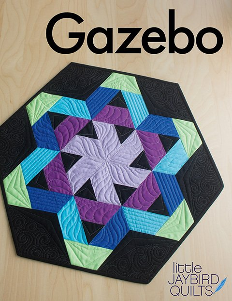 Gazebo Table Topper Pattern by JayBird Quilts
