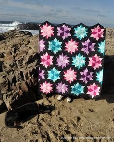 Night Sky Quilt Pattern in 5 Sizes by Jaybird Quilts