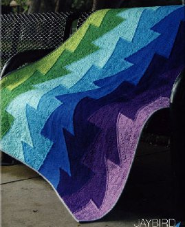 Northern Lights Quilt Pattern in 5 Sizes by Jaybird Quilts