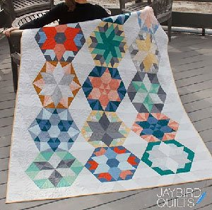 Park Bench Block of the Month Quilt Pattern by Jaybird Quilts
