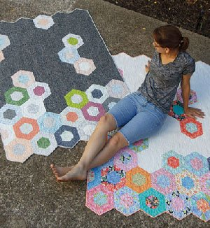 Science Fair Quilt Pattern in 4 Sizes by Jaybird Quilts