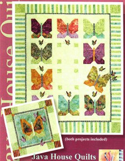 Butterfly's Break Quilt and Wallhanging Pattern by Java House Quilts