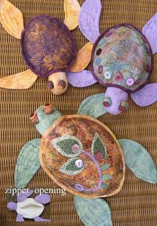 Shell Shelters Jewelry or Toy Pouches Pattern in 3 Sizes by Java House Quilts