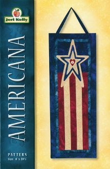 Americana Banner/Wallhanging/Tablerunner Pattern by Jeri Kelly
