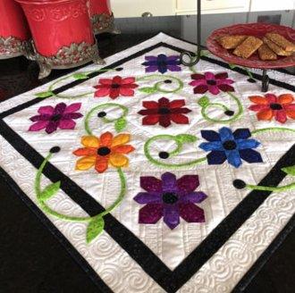 Black Eyed Susan Quilt Pattern by Jillily Studio