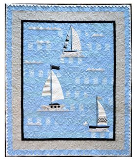 Ahoy Again Quilt Pattern by Jillily Studio