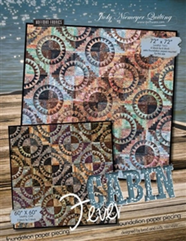 Cabin Fever Quilt Pattern by Judy Neimeyer of Quiltworx