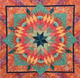 Summer Solstice Quilt Pattern by Judy Neimeyer of Quiltworx
