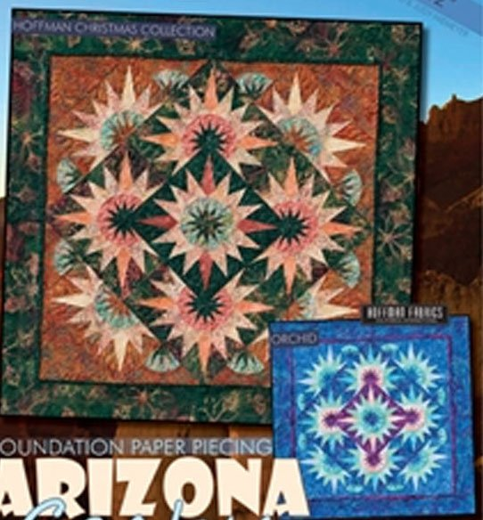 Arizona Cactus Table Topper Pattern by Judy Neimeyer of Quiltworx