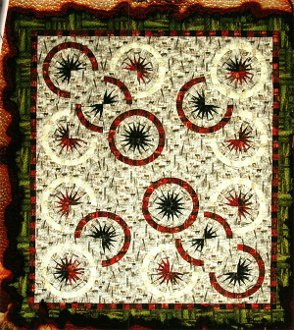 Spurs Quilt Pattern by Judy Neimeyer of Quiltworx