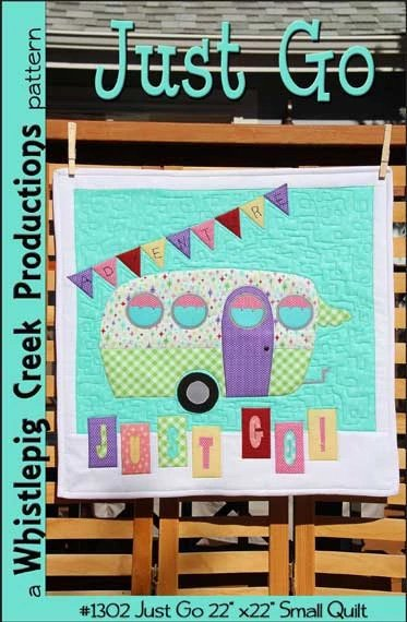 Just Go Small Quilt Pattern by Whistlepig Creek