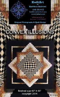 Convex Illusions Quilt Pattern by KwiltArt