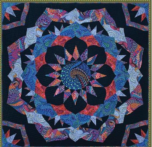 Kaleido Rose Quilt Pattern by Robin Ruth Design