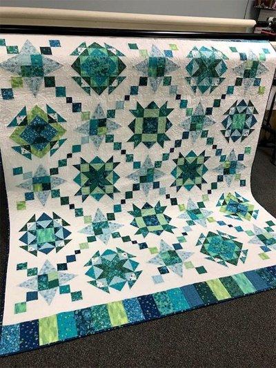 Kaleidoscope Designer Duo Quilt Patterns by Nancy Rink Designs