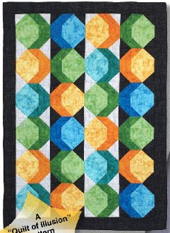 Candy Drops Quilt Pattern by Karen Combs