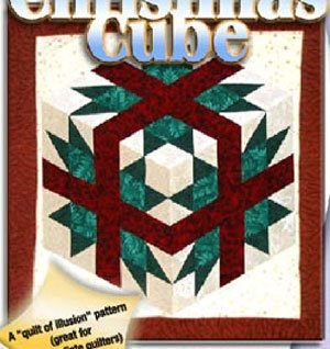 Christmas Cube Quilt Pattern in 2 Sizes by Karen Combs