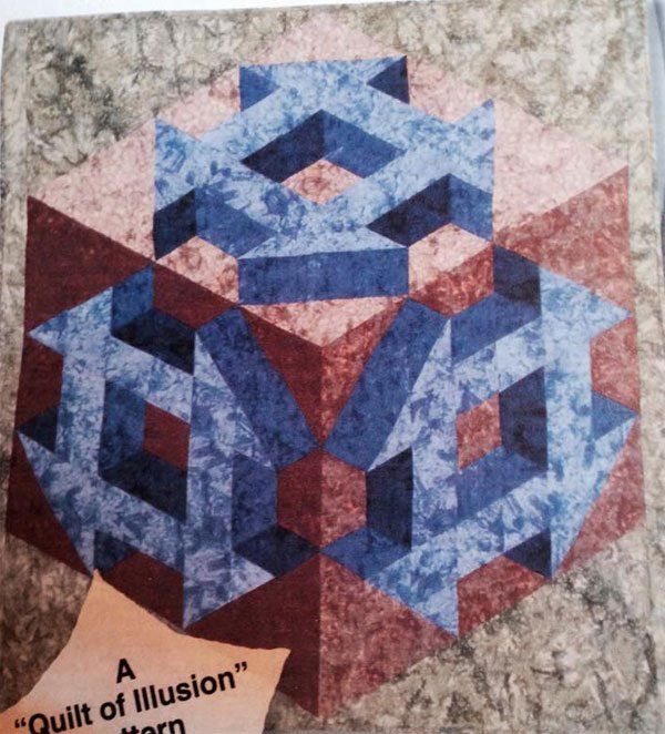 Shadow Illusion Churn Dash Quilt Pattern by Karen Combs