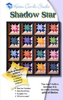 Shadow Star Quilt Pattern by Karen Combs