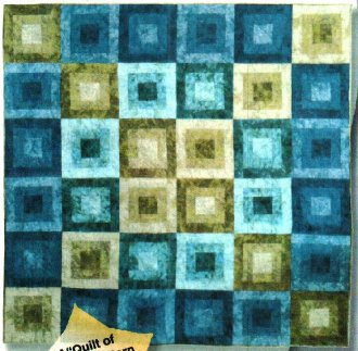 Water and Sky Quilt Pattern by Karen Combs