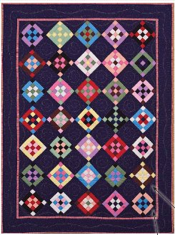 Almost Solid Quilt Pattern by Kaye England