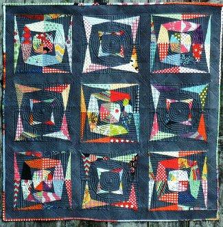 KaleidoScrap Quilt Pattern by Kelli Fannin