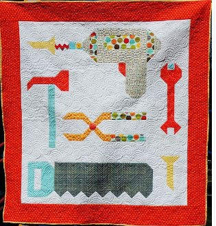 Tools Baby Quilt Pattern by Kelli Fannin