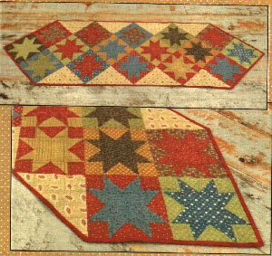 Kindred Stars Tablerunner Pattern by Farmhouse Threads