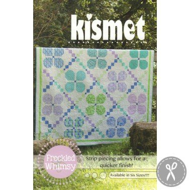 Kismet Quilt Pattern in 6 Sizes by Freckled Whimsy at KayeWood