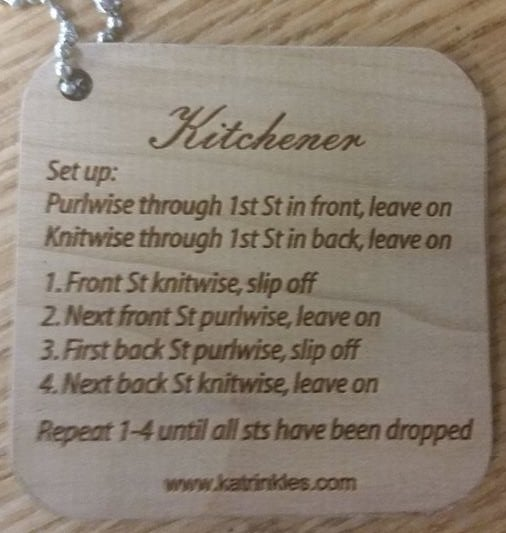 Kitchener Stitch Key Chain By Katrinkles