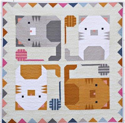 Kitten Around Quilt Pattern by Pen & Paper Patterns