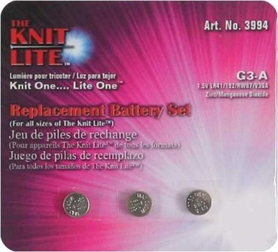 Knit LIte Replacement Batteries