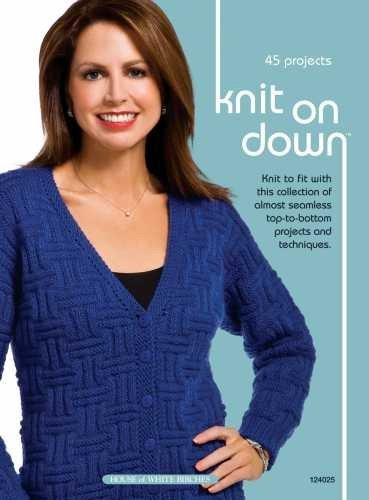 Knit On Down Knitting Technique Book by Jeanne Stauffer