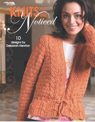 Knits to be Noticed - 10 Designs by Deborah Newton Knitting Book