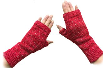 Align Fingerless Mitts Yarn and Pattern Kit at North Woods Knit & Purl