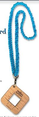 Knit & Beaded Lanyard from North Woods Knit & Purl