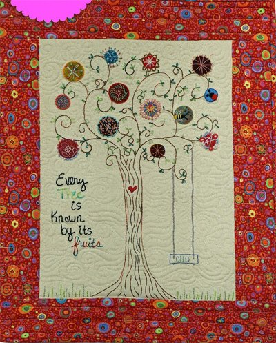 Known Embroidery Quilt Epattern by Charisma Horton