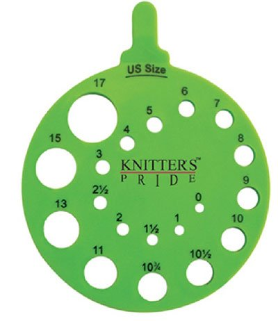 Knitter's Pride Round View Needle Sizer