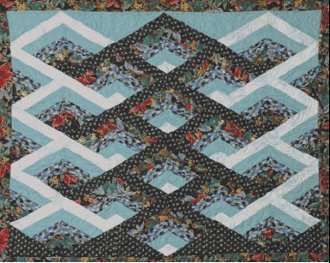 A-Maze-Ing Quilt Pattern by Kaye Wood