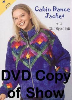 Cabin Dance Jacket Technique 1110 DVD by Kaye Wood