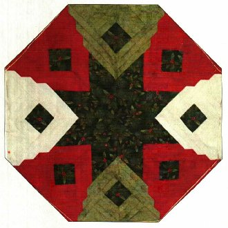 Christmas Cabin Quilt Pattern by Kaye Wood
