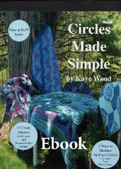 Circles Made Simple E-Book by Kaye Wood