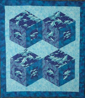 Diamonds In Motion Wallhanging EPattern by Kaye Wood