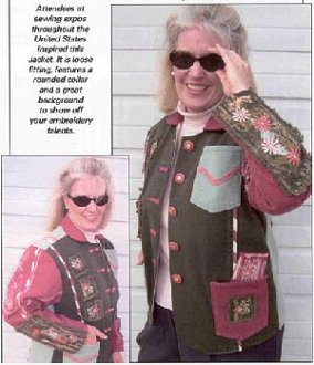 Expo Jacket Technique 2112 DVD by Kaye Wood