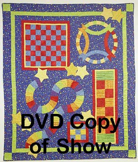 Game Quilt Technique DVD 1506 by Kaye Wood