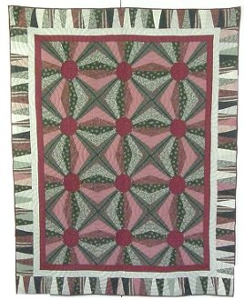 Jumping Jacks Quilt Technique DVD 1903 by Kaye Wood